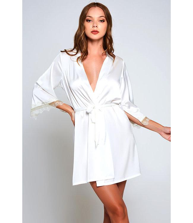 Alison Plus White Robe 78084X