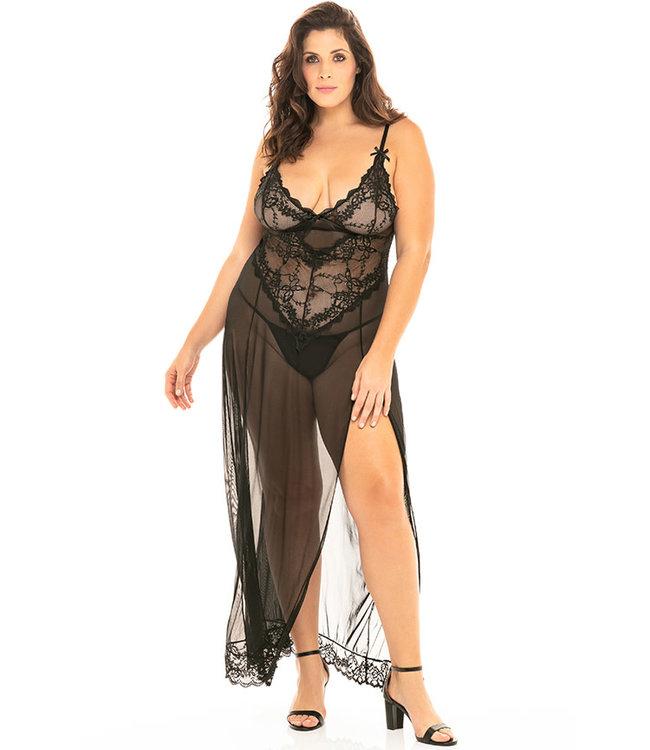 Heidi Plus Long Gown 76-11495X