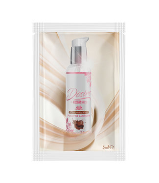 Desire  Chocolate Kiss Flavored Lubricant 5ml