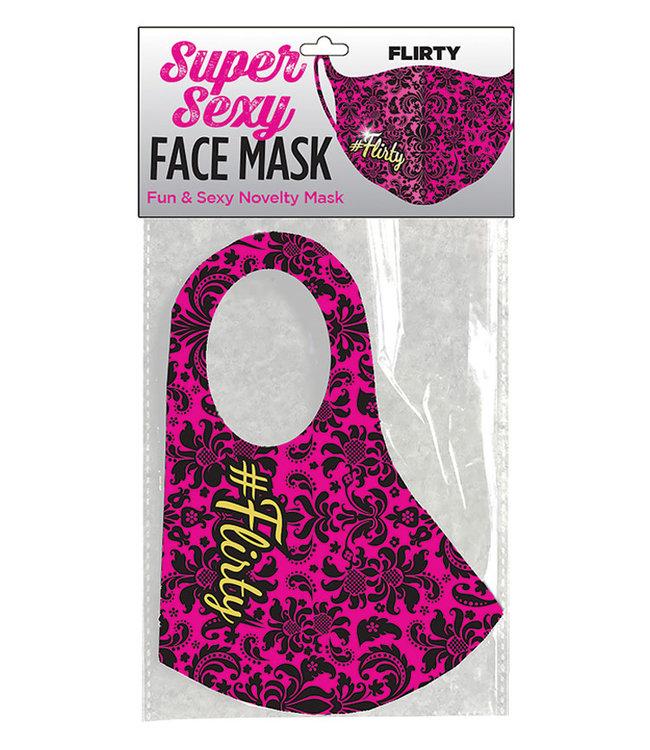 Super Sexy #Flirty Face Mask