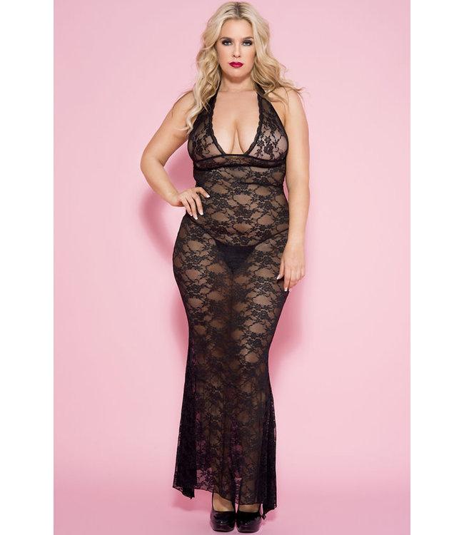 Kandice Plus Long Gown 53012Q