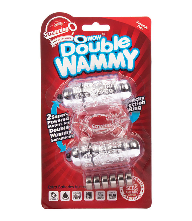 Screaming O OWow! Double Wammy Clear