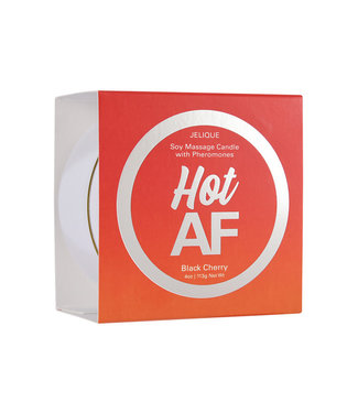 Jelique Massage Candle Hot AF Black Cherry 4oz