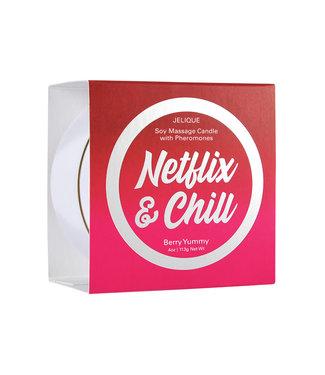 Jelique Massage Candle Netflix & Chill Berry Yummy 4oz