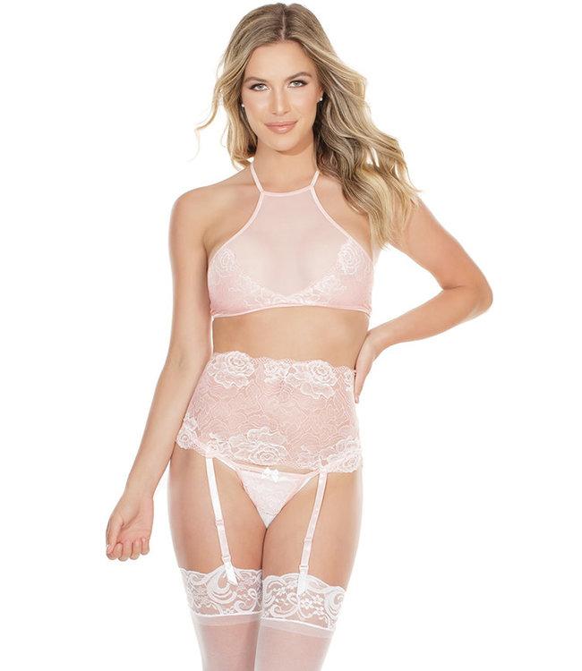 Della Pink/White Set 7176 One Size