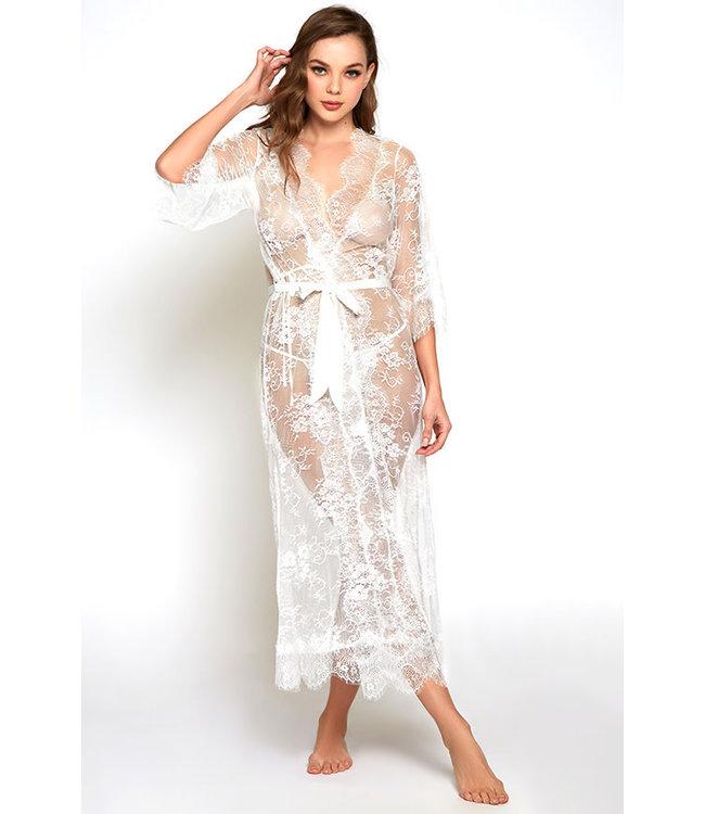 Kai White Long Gown 78023