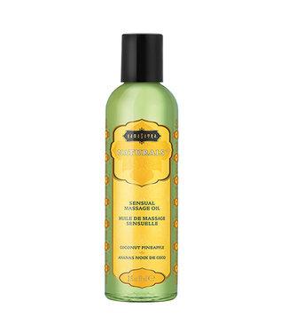 Kama Sutra Naturals Massage Oil Coconut Pineapple 2oz