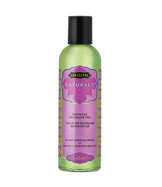Kama Sutra Naturals Massage Oil Island Passion Berry 2oz