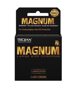Trojan Magnum Condoms 3 Pack
