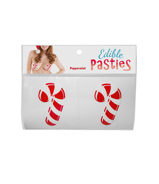 Peppermint Candy Cane Edible Pasties