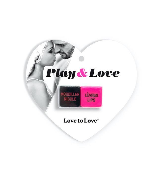 Love To Love Play & Love Dice