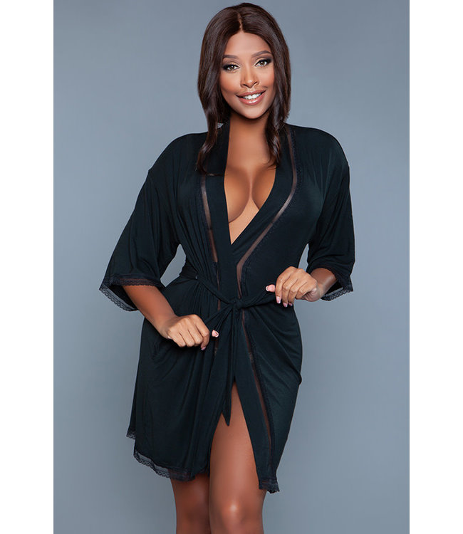 Sylvie Black Robe 2146