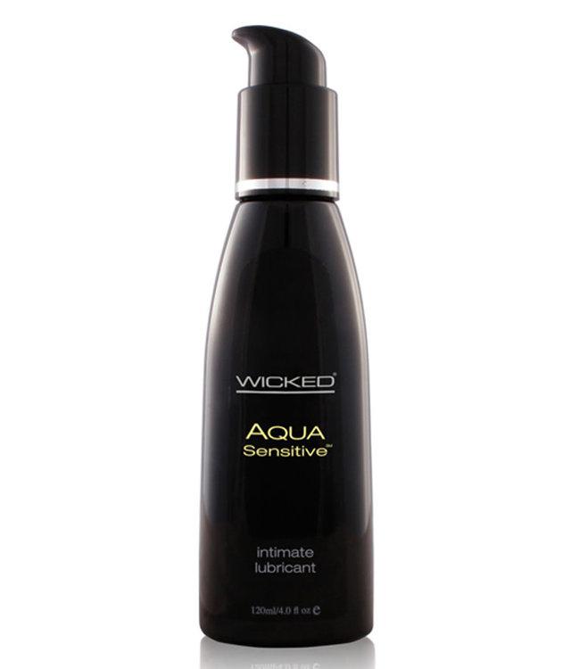 Wicked Aqua Sensitive Lubricant 4oz