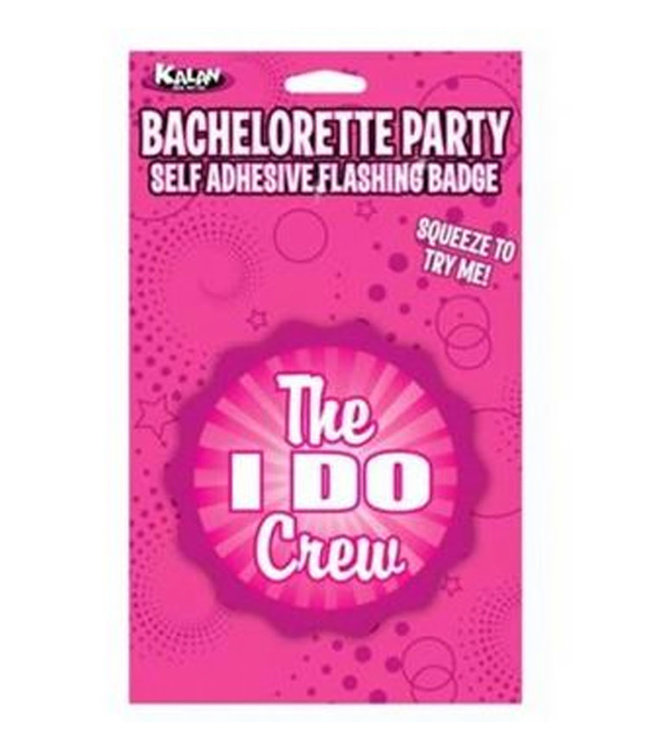 "Flashing Badge: The ""I Do"" Crew Bachelorette"