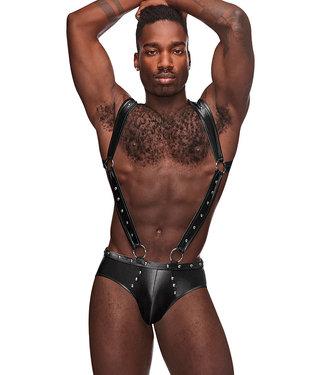 Kerri Black Harness Jockstrap PAK154