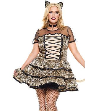 Plus Cheeky Cheetah Costume 70749Q