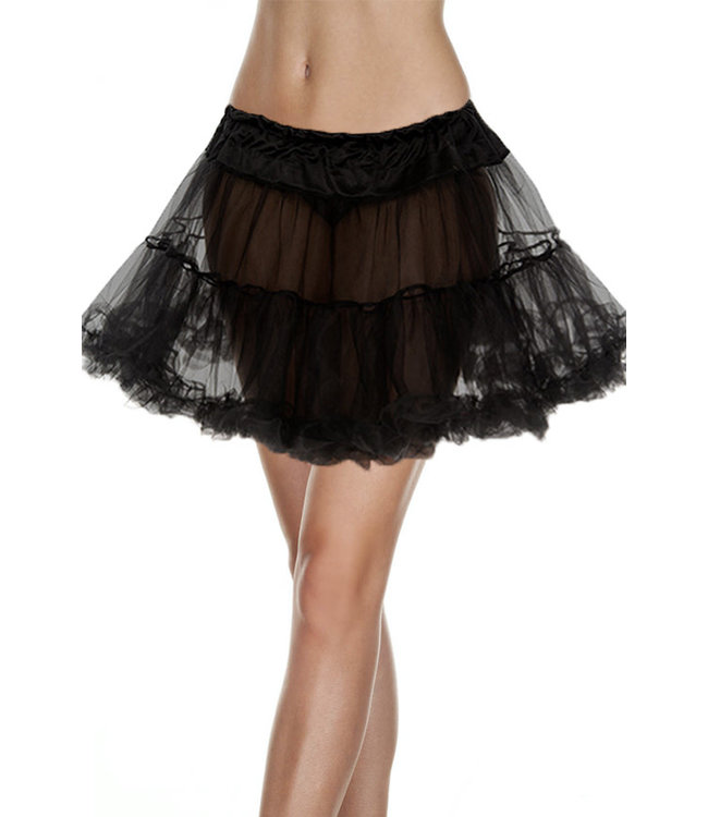 Black Tulle Petticoat 711