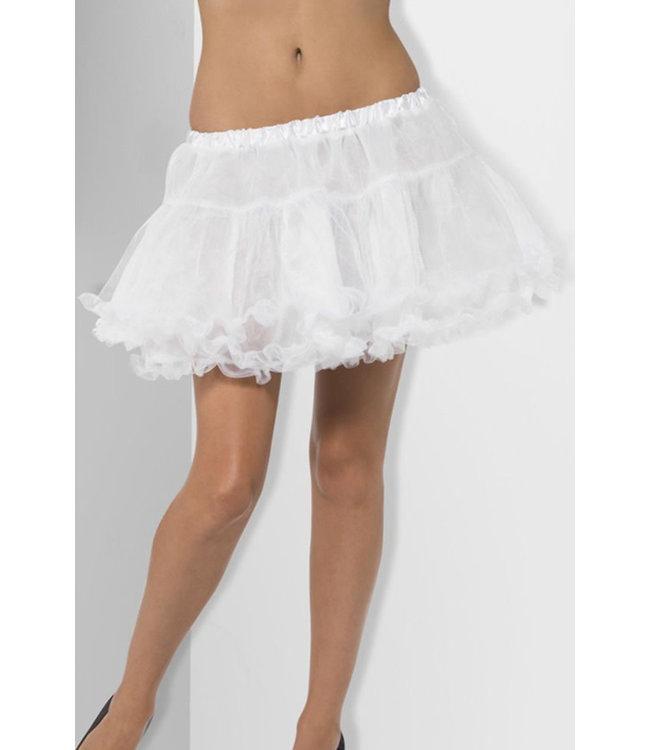 White Layered Petticoat 44053