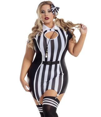 Plus Roughhousing Referee Costume S2060X