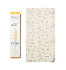 Abeego Giant Reusable Beeswax Food Wrap