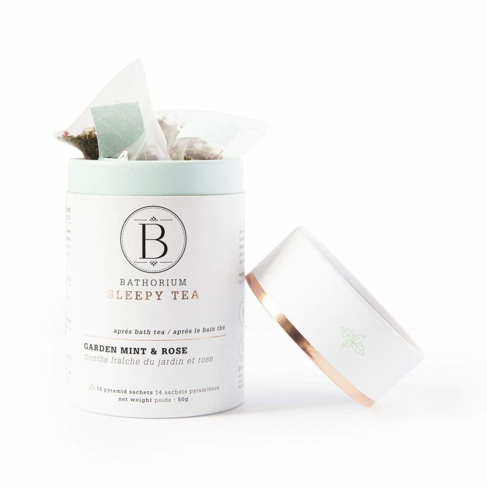 BATHORIUM APRES BATH TEA - GARDEN MINT + ROSE
