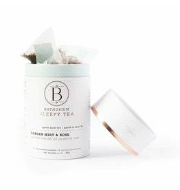 BATHORIUM Apres Bath Tea Garden Mint + Rose