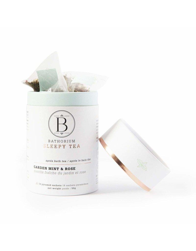 Bathorium Apres Bath Tea Garden Mint + Rose