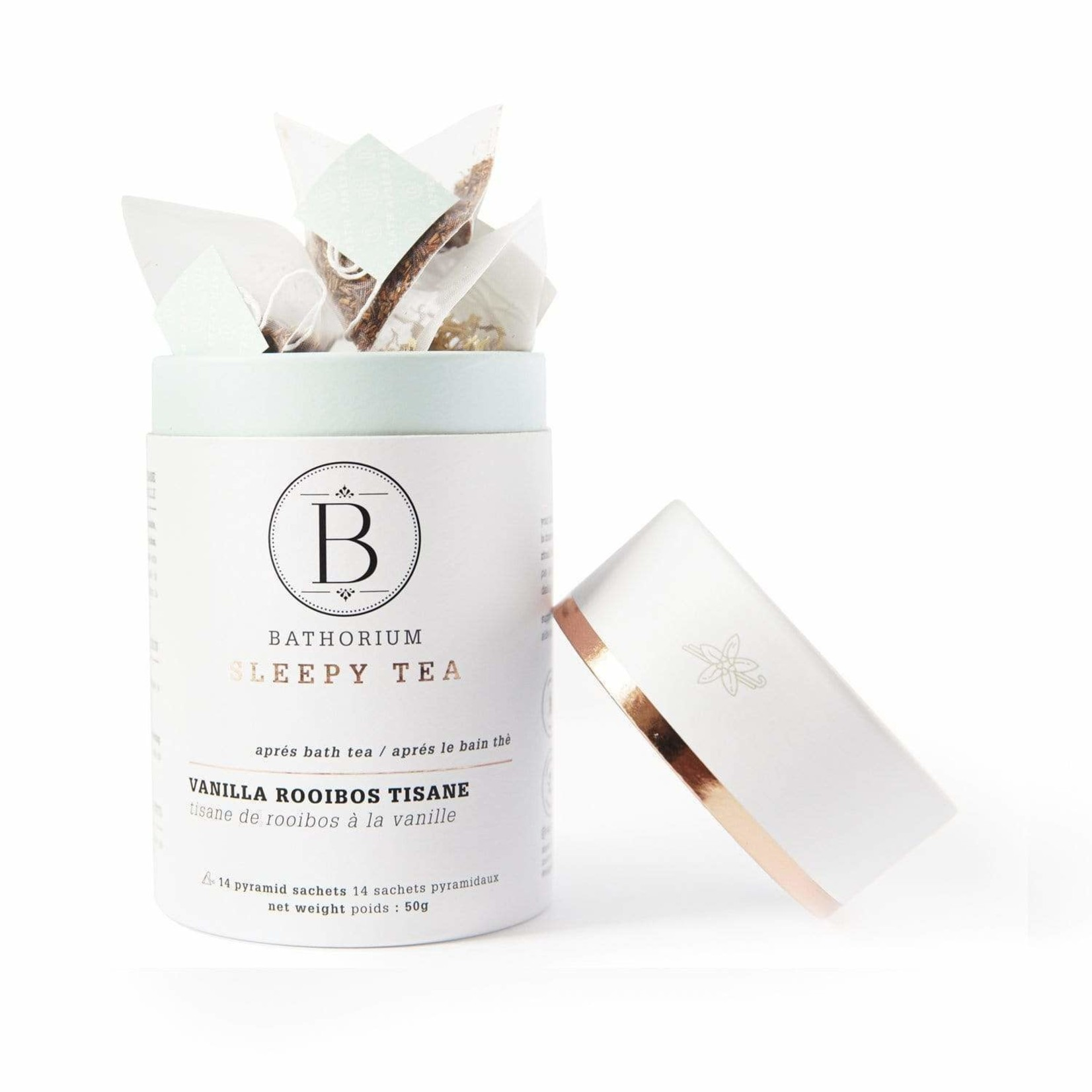 BATHORIUM APRES BATH TEA - VANILLA ROOBIOS TISANE