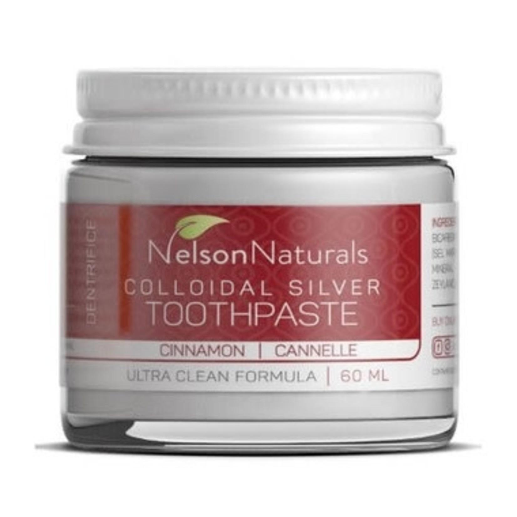 NELSON NATURALS TOOTHPASTE JAR - CINNAMON