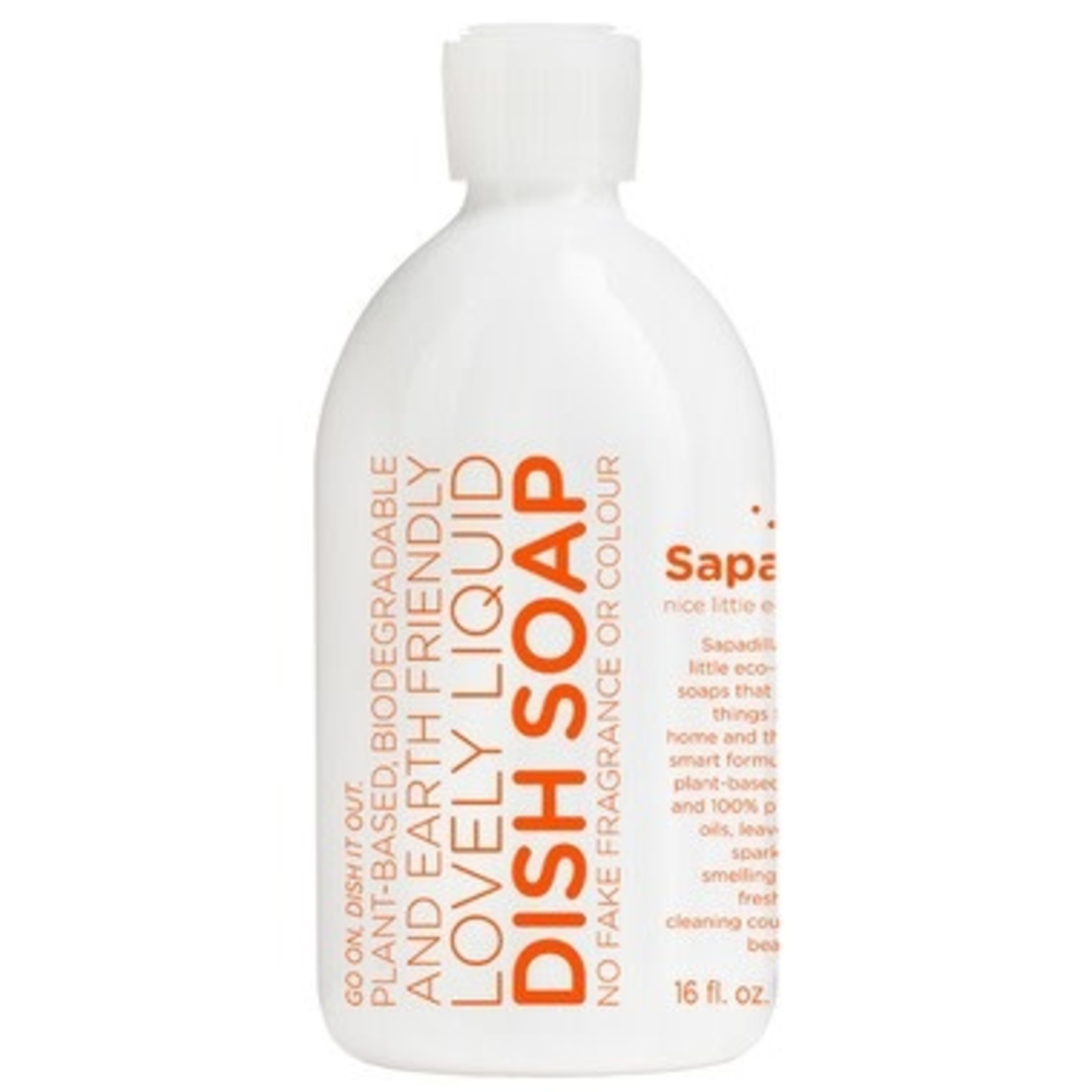 SAPADILLA Grapefruit + Bergamot  Dish Soap
