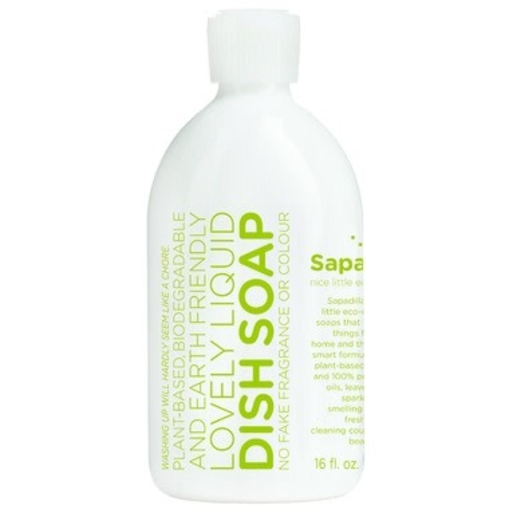 SAPADILLA DISH SOAP - ROSEMARY + PEPPERMINT