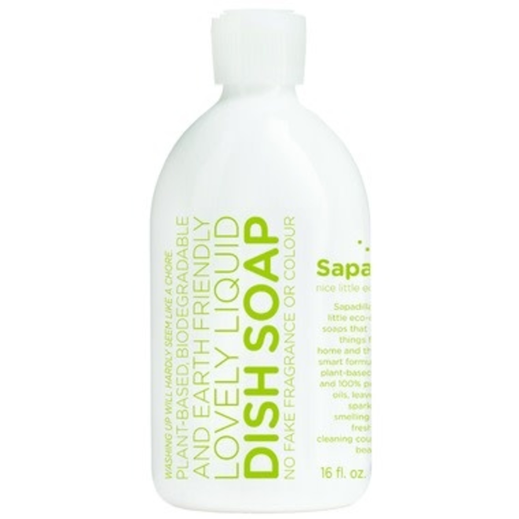 SAPADILLA Rosemary + Peppermint Dish Soap