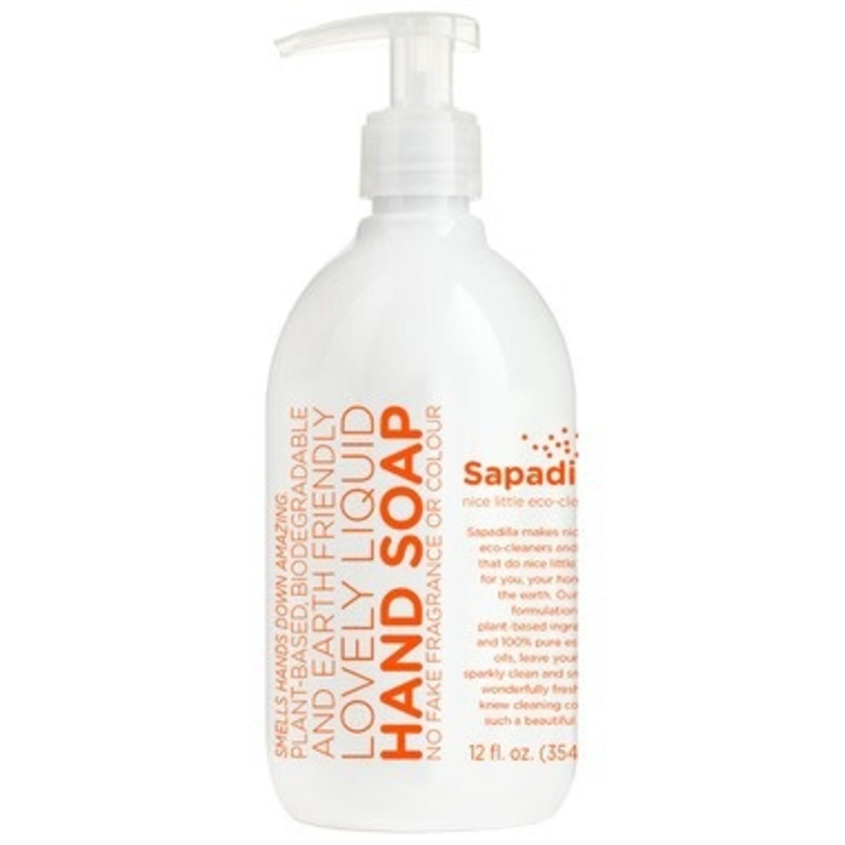 SAPADILLA Grapefruit + Bergamot Hand Soap