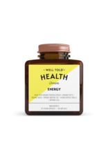WELL TOLD HEALTH BOTANICALS Energy
