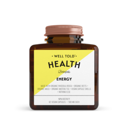 Well Told Health Botanicals Energy Vegan Capsules