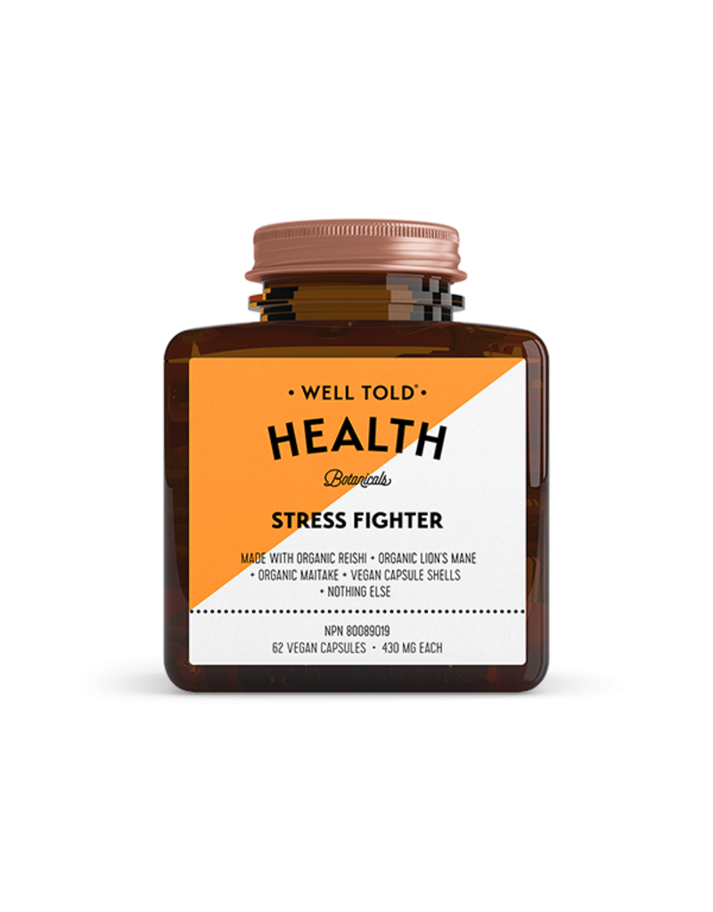 WELL TOLD HEALTH BOTANICALS Stress Fighter