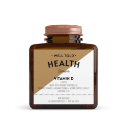 Well Told Health Botanicals Vitamin D Vegan Capsules