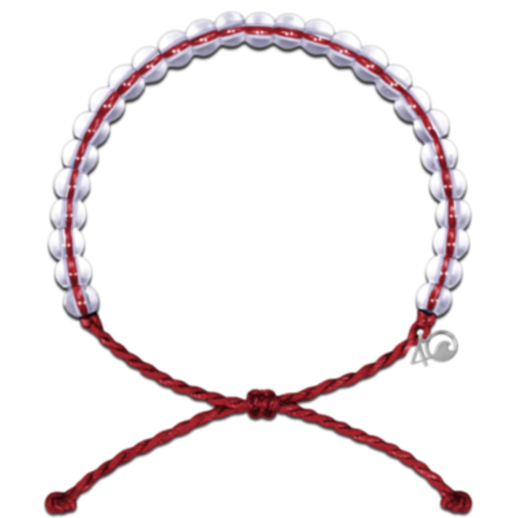 4OCEAN Sustainable Fishing Bracelet (Red)