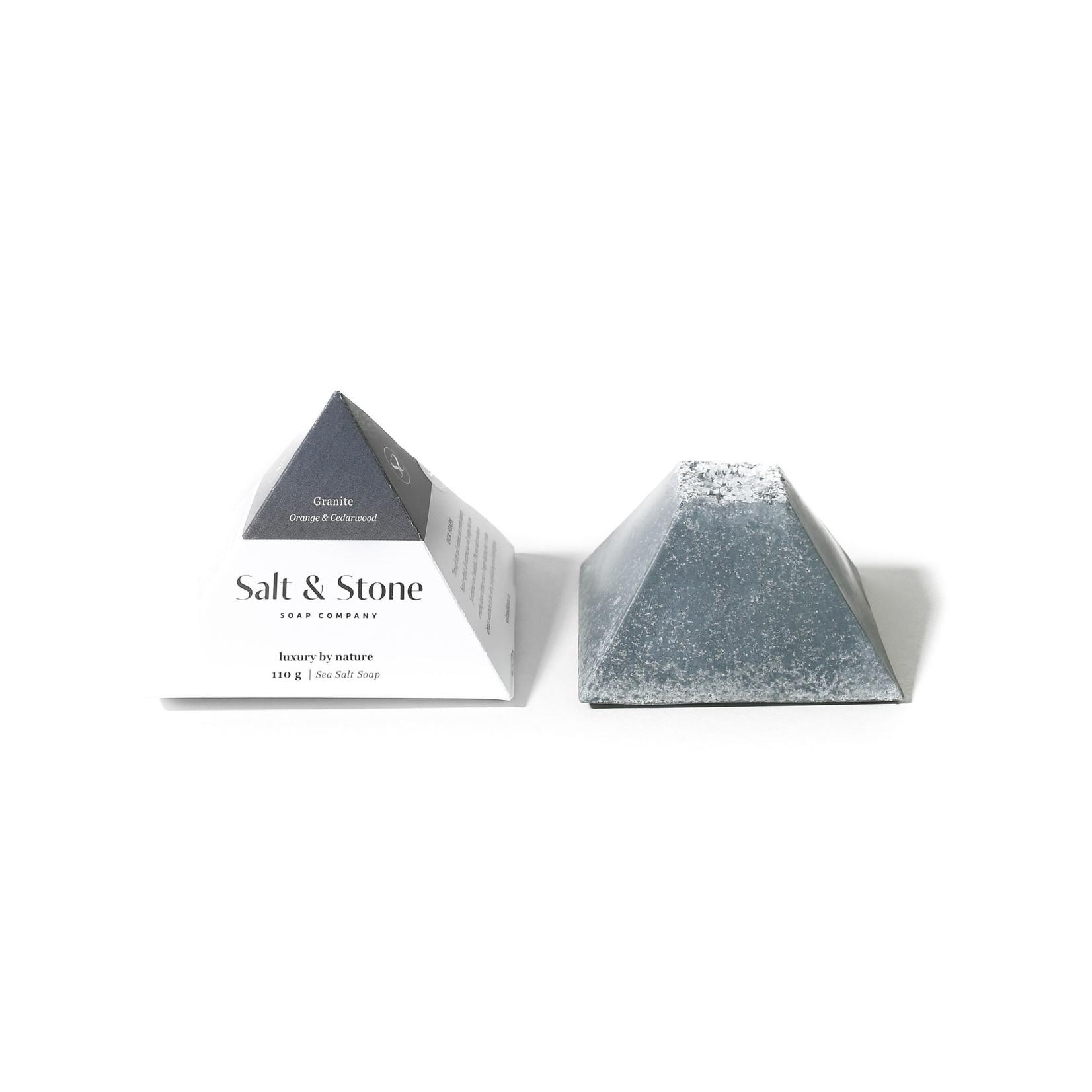 SALT AND STONE COMPANY Granite Sea Salt Soap