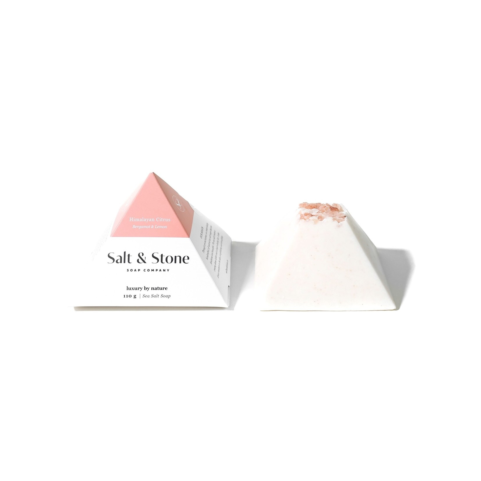 SALT AND STONE COMPANY Himalayan Citrus Sea Salt Soap