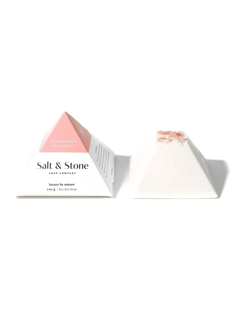 Salt and Stone Soap Company Himalayan Citrus Sea Salt Soap