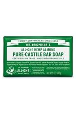 Dr. Bronner's Almond Pure-Castile Bar Soap