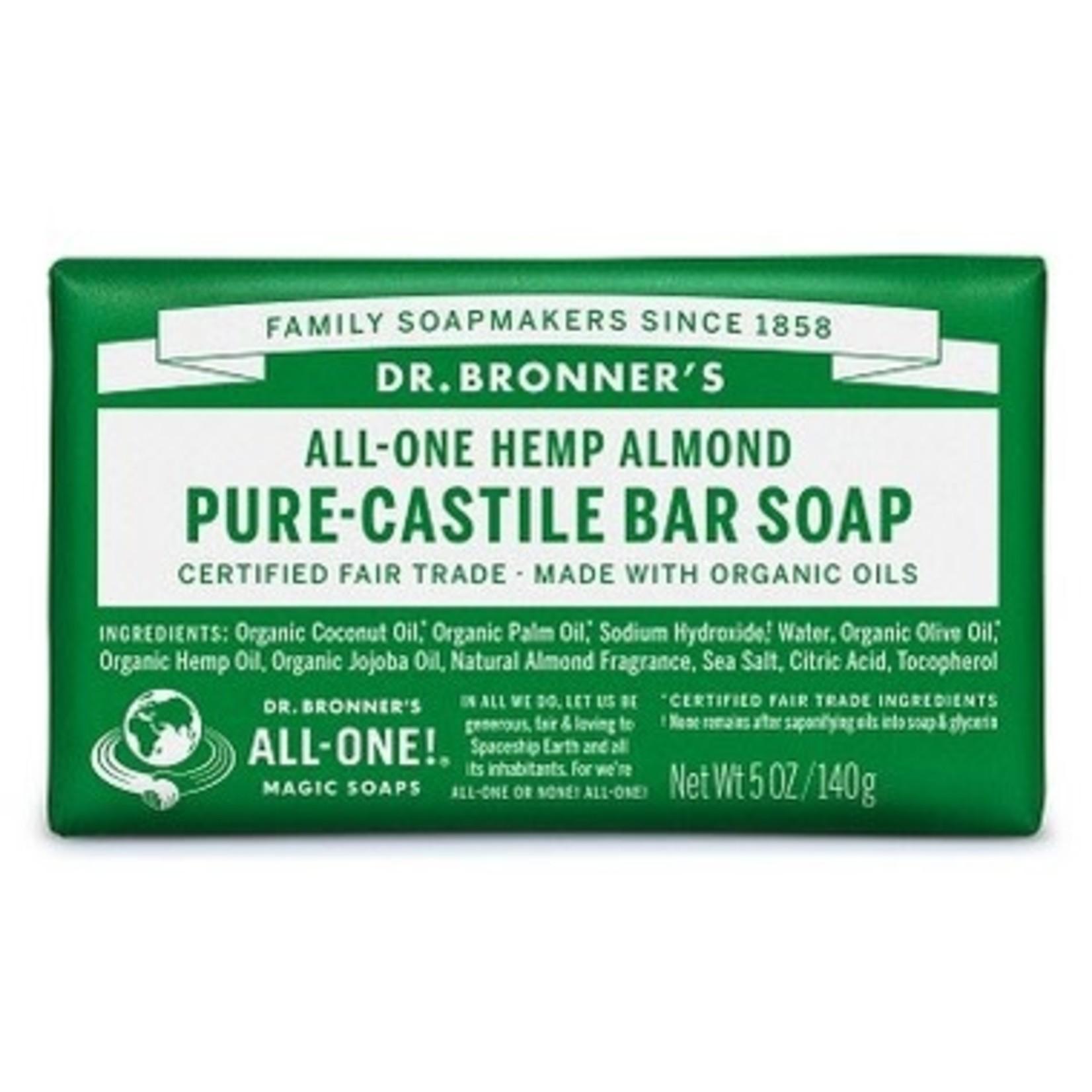 DR. BRONNER'S Pure-Castile Bar Soap - Almond