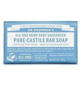 Dr. Bronner's Baby Pure-Castile Bar Soap