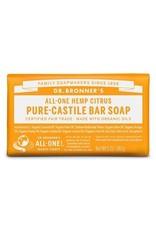 Dr. Bronner's Citrus Pure-Castile Bar Soap