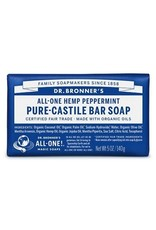 DR. BRONNER'S Peppermint Pure-Castile Bar Soap