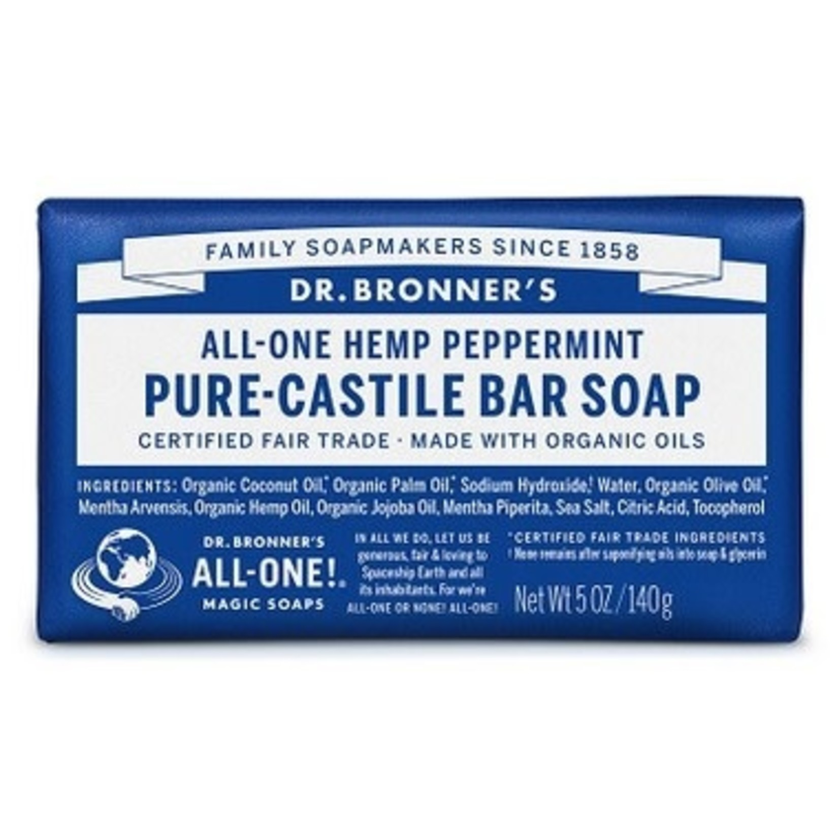 DR. BRONNER'S PURE CASTILE SOAP - PEPPERMINT