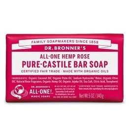 DR. BRONNER'S Rose Pure-Castile Bar Soap