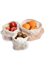 Life Without Waste Mesh Produce Bag Trio