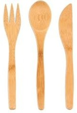 TO-GO WARE Single Bamboo Utensils